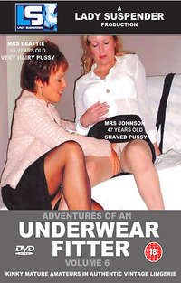 Adventues Of An Underwear Fitter #6 Cover