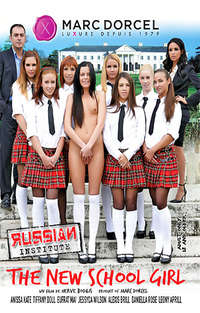 Russian Institute #20 - The New School Girl  Cover