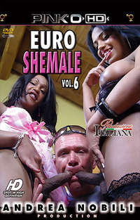 Euro Shemale #6 Cover