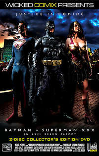 Batman Vs. Superman XXX: An Axel Braun Parody - Disc #1 Cover