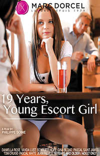 19 Years, Young Escort Girl Cover