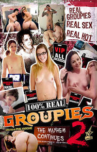 100% Real Groupies #2 Cover