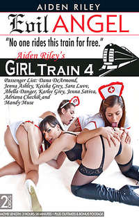 Girl Train #4 - Disc #2 Cover