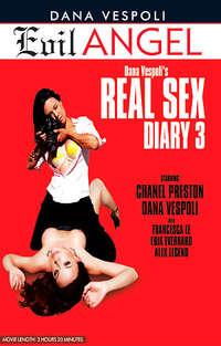 Dana Vespoli's Real Sex Diary #3 Cover