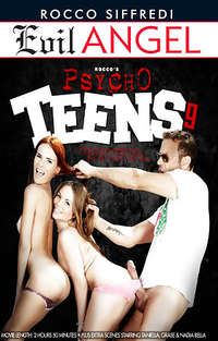 Rocco's Psycho Teens #9 Cover